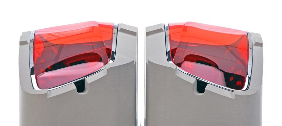 Modern automotive light units