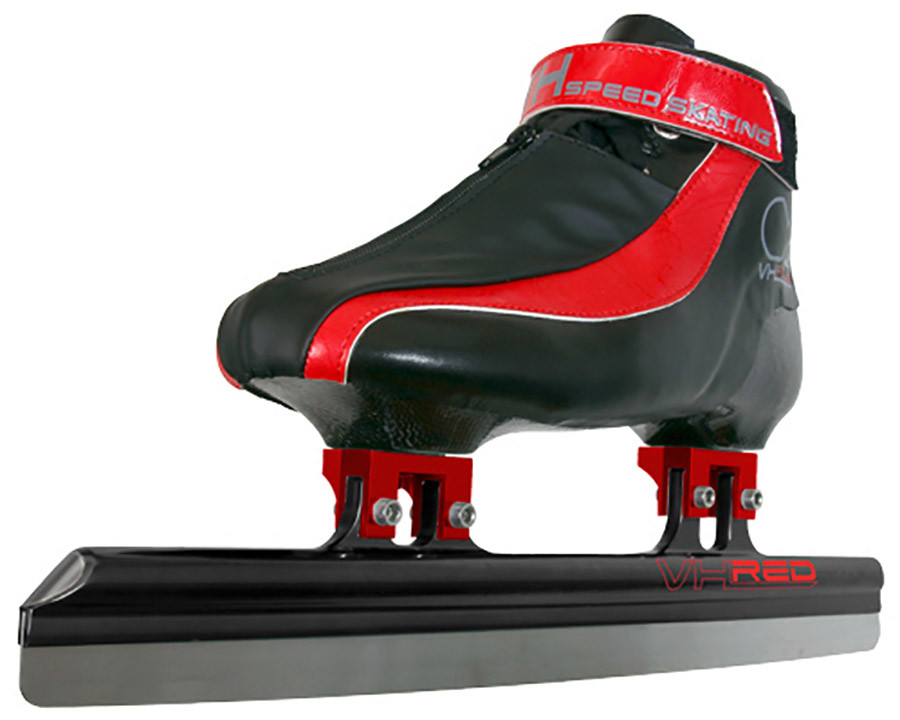 Skate blade honing