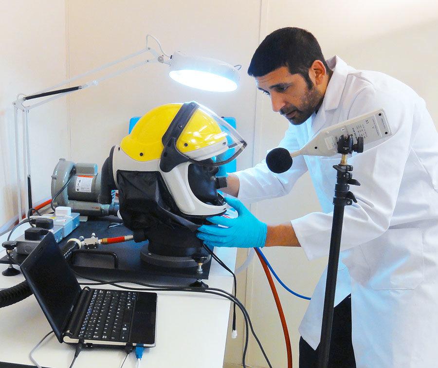 Helmet Testing